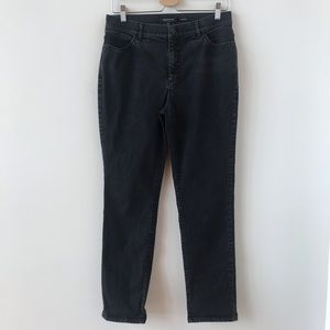 Lafayette 148 New York black  Thompson jeans